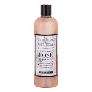 Charcoal Rose Bubble Bath 16oz Archipelago Botanicals