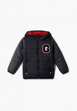 Куртка утепленная Gusti. Цвет: черный