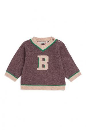 Пуловер шерстяной Bonpoint. Цвет: multicolor