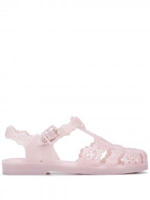 Сандалии с вырезами Viktor & Rolf. Цвет: розовый