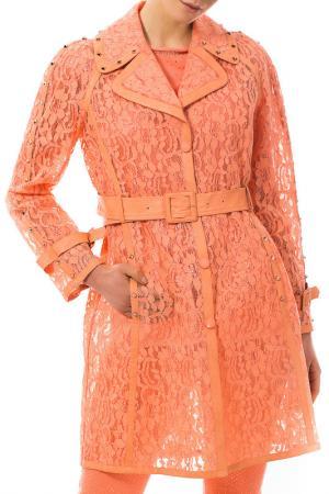 Плащ VDP. Цвет: оранжевый