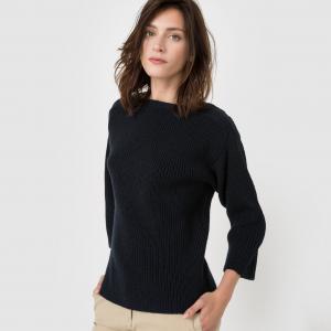 Пуловер широкого покроя La Redoute Collections. Цвет: зеленый нефрит