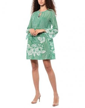Пляжное платье AGOGOA. Цвет: зеленый