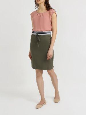 Узкая юбка 6 P.M.. Цвет: khaki