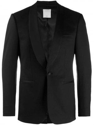 Пиджак-смокинг Sandro Paris. Цвет: черный