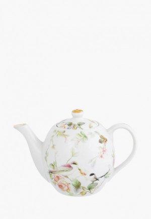 Чайник заварочный Elan Gallery. Цвет: белый