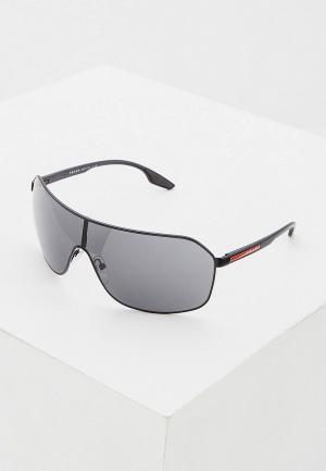 Очки солнцезащитные Prada Linea Rossa 0PS 53VS 1BO5S0. Цвет: черный