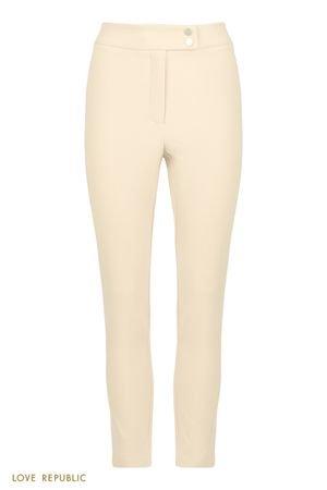 Зауженные брюки с высокой посадкой LOVE REPUBLIC