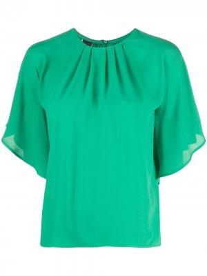 Блузка с широкими рукавами Pinko. Цвет: зеленый