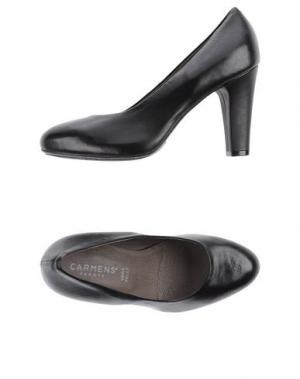 Туфли CARMENS. Цвет: черный