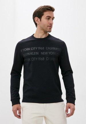 Лонгслив Calvin Klein. Цвет: черный