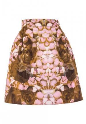 Юбка McQ. Цвет: розовый