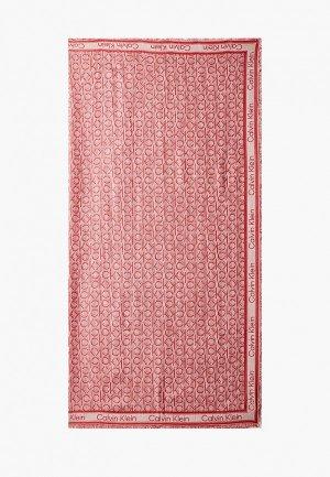 Платок Calvin Klein. Цвет: красный