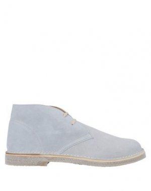 Полусапоги и высокие ботинки CALPIERRE. Цвет: светло-серый