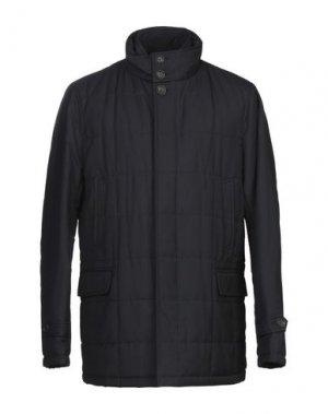Куртка ADHOC. Цвет: темно-синий