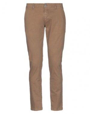 Повседневные брюки EXTE. Цвет: хаки