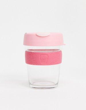 Розовая многоразовая кружка объемом 12 унций KeepCup Saskatoon-Бесцветный Keep Cup