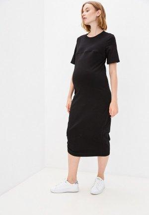 Платье Mama's fantasy. Цвет: черный