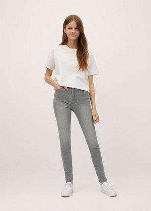 Джинсы скинни - Skinnyt Mango. Цвет: джинсовый серый