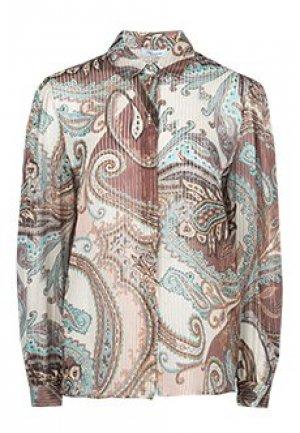 Блуза BLUMARINE. Цвет: разноцветный