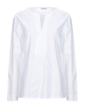 Блузка CAPPELLINI by PESERICO. Цвет: белый