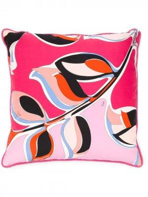Подушка с принтом Emilio Pucci. Цвет: розовый
