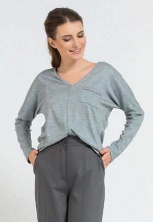 Пуловер Remix. Цвет: серый