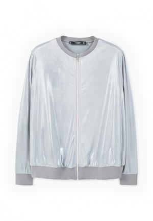 Куртка Mango - KENEDY. Цвет: серебряный