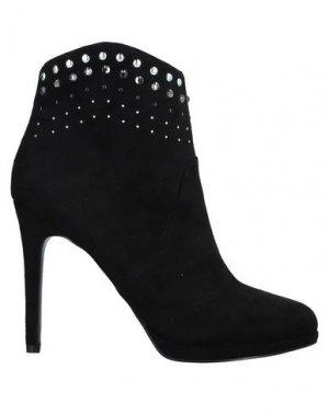 Полусапоги и высокие ботинки GAUDÌ. Цвет: черный