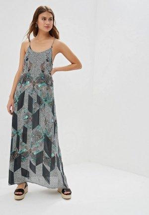Платье Brunotti. Цвет: серый