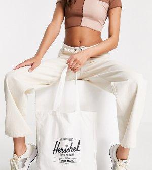 Эксклюзивная сумка-тоут белого цвета с логотипом -Белый Herschel Supply Co