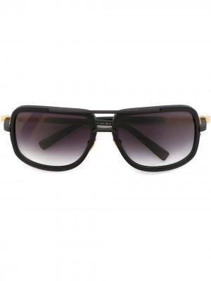 Солнцезащитные очки Mach One Dita Eyewear. Цвет: черный