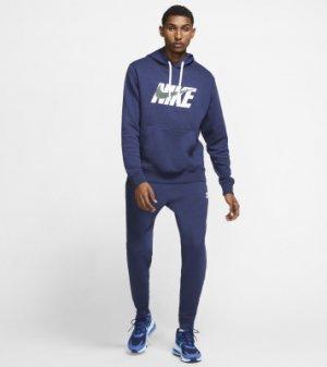 Костюм мужской Sportswear, размер 46-48 Nike. Цвет: синий