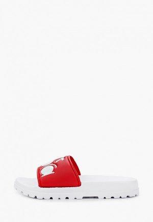 Сланцы Diadora SOLANAS. Цвет: красный