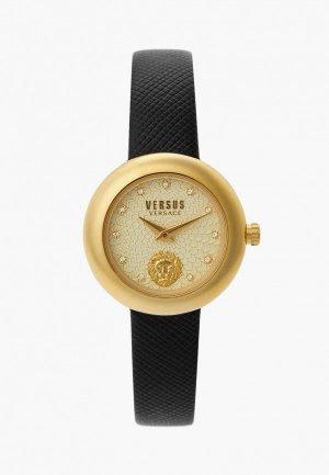 Часы Versus Versace VSPZJ0221. Цвет: черный