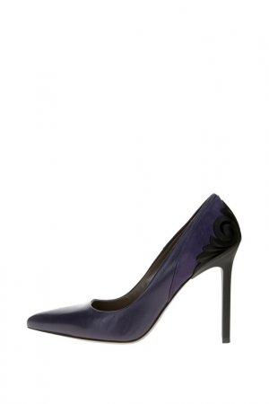 Туфли Versace Collection. Цвет: фиолетовый