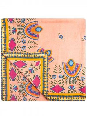 Большая скатерть La Doublej. Цвет: розовый