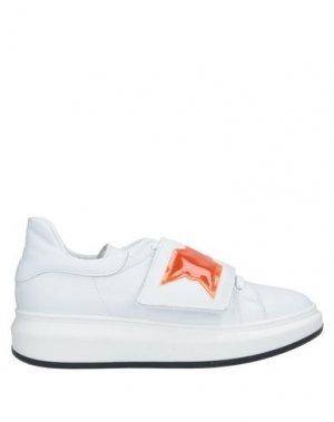 Низкие кеды и кроссовки ATOS LOMBARDINI. Цвет: белый