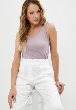 Майка Sela Exclusive online. Цвет: фиолетовый