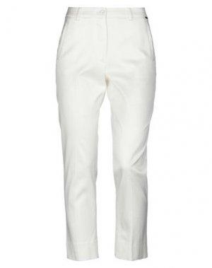 Повседневные брюки PARAKIAN. Цвет: белый