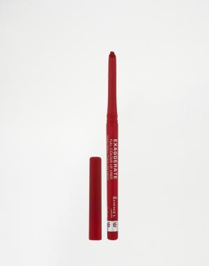 Карандаш-подводка для губ Rimmel Exaggerate Full Colour-Красный London