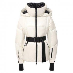 Пуховая куртка Moncler Grenoble. Цвет: белый
