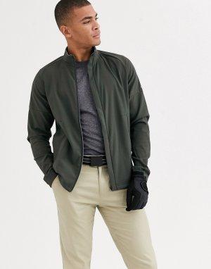 Куртка хаки adidas Golf