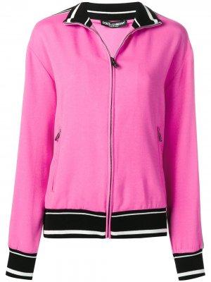 Куртка-бомбер LAmore E Bellezza Dolce & Gabbana. Цвет: розовый
