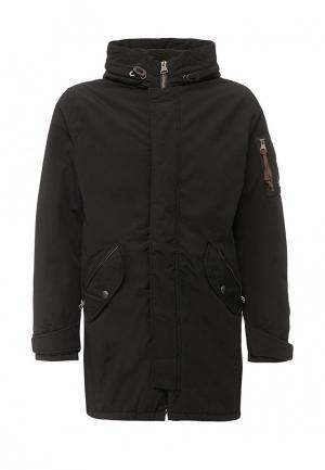 Куртка утепленная Jack & Jones JA391EMUIY02. Цвет: черный