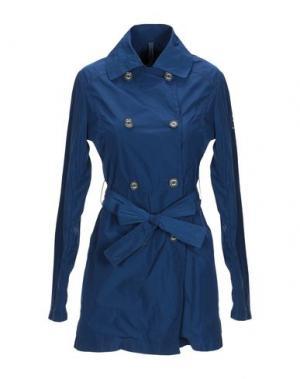 Легкое пальто REFRIGUE. Цвет: темно-синий