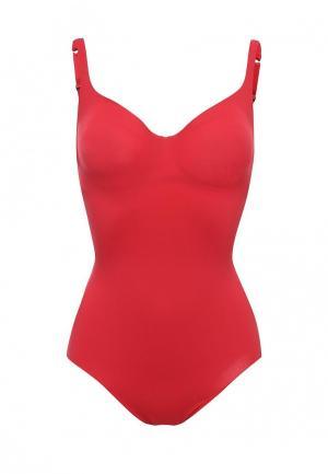 Купальник Wolford Swim Forming Swimbody. Цвет: красный