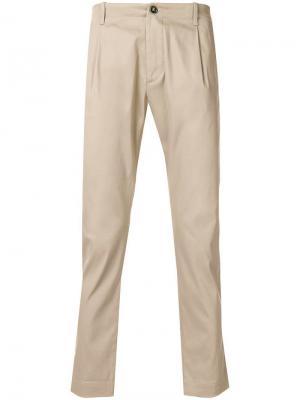 Классические брюки-чинос Nine In The Morning. Цвет: нейтральные цвета