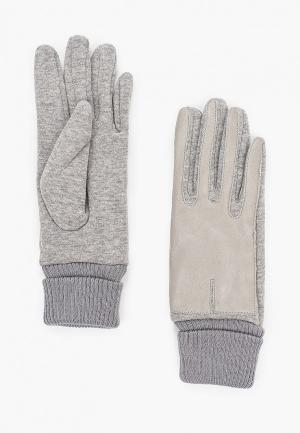 Перчатки Flioraj. Цвет: серый