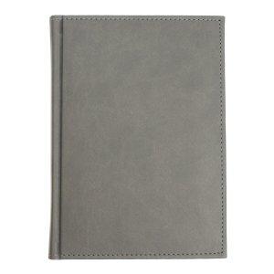 Ежедневник датированный а5 на 2022 год, 168 листов, обложка искусственная кожа vivella, серый Calligrata